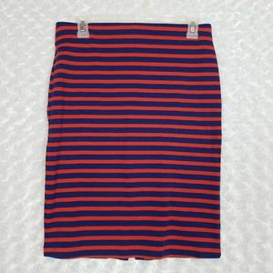 Old Navy XS Striped Ponte Pencil Skirt
